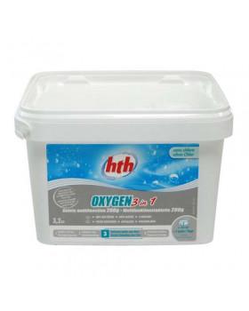 hth Таблетки активного кислорода 3 в 1, 200 гр. 3,2 кг